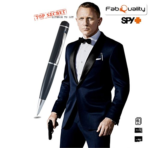 fabquality versteckter Kamera Spy Pen 1080P. Inkl. 16GB SD - 3