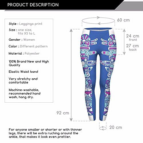 HDYS Donna Gambali Quotidianamente La Stampa 3D Cartoon Pantaloni Della Gioventù lga41582