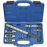 Ventilfederspanner Ventilschaftdichtung Wechseln De-Montage Werkzeug Set 8-teilig