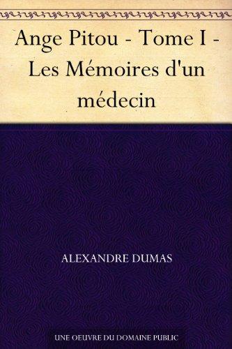 Couverture du livre Ange Pitou - Tome I - Les Mémoires d'un médecin
