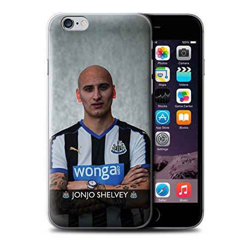 Offiziell Newcastle United FC Hülle / Case für Apple iPhone 6S+/Plus / Pack 25pcs Muster / NUFC Fussballspieler 15/16 Kollektion Shelvey