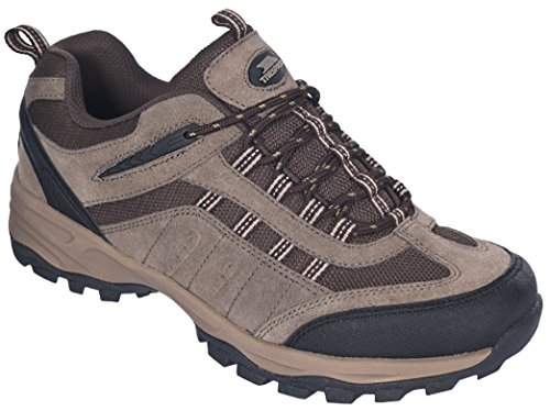 Trespass Archie, Scarpe da atletica leggera uomo Marrone (Marrone (Brown))