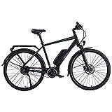"""Bicicletta Elettrica a Pedalata Assistita 28"""" Cambio Automatico Brinke Rushmore 2 DI2 M Nera"""