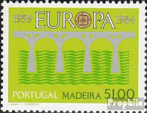 Madeira (Portugal) 90 (kompl.Ausg.) 1984 25 J. Post- und Fernmeldewesen (Briefmarken für Sammler)