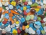 Mosaiksteine Polygonal 1000g Bunte Mischung lose Steine zum Basteln