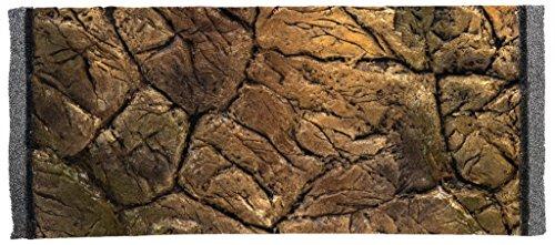Aquarium Struckturwand in 3D Terrarien Rückwand Felsnachbildung 60x30cm NEU