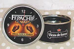 Horloge Magnetique Humoristique 9 cm Fepachié ce Matin