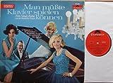 """SCHULZ-REICHEL, FRITZ UND DAS BRISTOL-BAR-SEXTETT / Man müßte Klavier spielen können / 1965 / Bildhülle / Polydor # 237388 / Deutsche Pressung / 12"""" Vinyl Langspiel Schallplatte"""