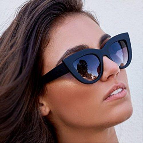 Galleria fotografica Topgrowth Occhio di Gatto Moda Unisex Bicchieri Guida Occhiali da Sole Donna Uomo Cat Eye Vintage Retro Eyewear Sunglasses