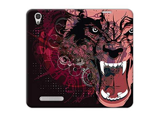 etuo Handyhülle für ZTE Blade A452 LTE - Hülle, Handy Flip Case - Werwolf
