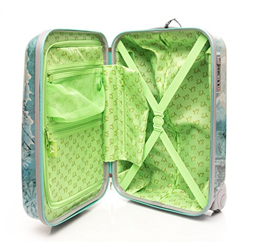 Trolley bagaglio a mano rigido Y Not, Butterflies butterfly