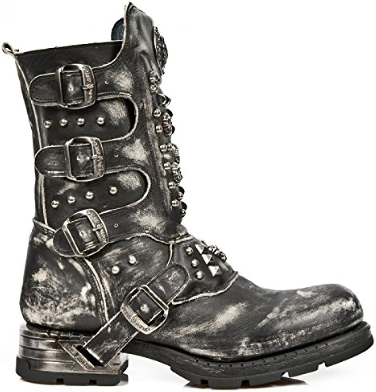 New Rock Boots M.MR019 S2 Urban Biker Hardrock Herren Stiefel SchwarzNew Rock Boots M MR019 S2 Hardrock