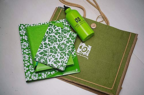 Brustkrebs-Behandlung Notizbuch, Planer und Tagebuch, Geschenkset - bereit für die Erholung 5 Piece - English grün -