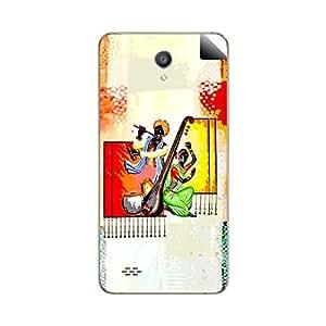 Skintice Designer Mobile Back Skin Sticker for Oppo Joy 3