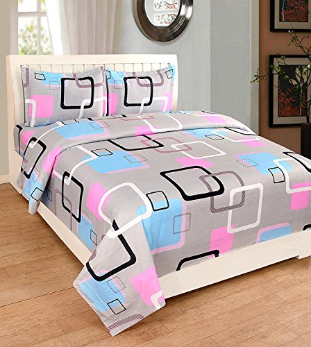 Astra Bedsheets Double Bedsheets Cotton With Pillow Cover Combo