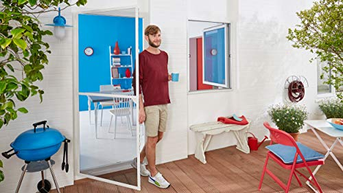 tesa Fliegengitter Alurahmen für Türen