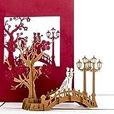 Hochzeitskarte 3D
