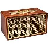 AmazonBasics - Altoparlante Bluetooth, vintage/retro