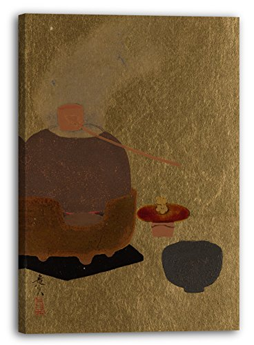 Printed Paintings Impresión Sobre Lienzo (60x80cm): Shibata Zeshin - Aparato de Ceremonia de Té