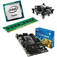 upgrade Kit MSI Z170A PC Mate Motherboard for Desktop/PC with i5-6400 Skylake Processor, 8 GB DDR4 RAM and Intel HD530 On Chip Graphics