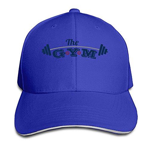 ac7b55f8341db VenC Hats Plain Baseball Cap Fashion THE GYM Chapeau Ash - Blue -