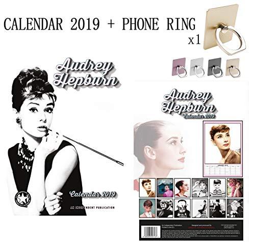 Queen calendario 2019+ anello del metallo e supporto per tutti i cellulari