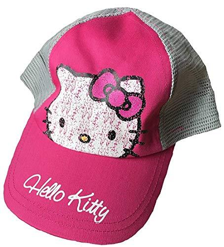 Hello Kitty Kinder Baseball Kappe 4-8 Jahre Pink/Grau Hello Kitty Baseball