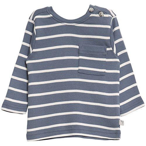Wheat Baby-Jungen T-Shirt Jesper LS, Blau (Blue 1043), 62 (Herstellergröße: 3m) (Links Brusttasche)