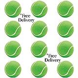 Steller Tennis Rubber Ball for Cricket, Light Weight - Pack of 12 (Green)