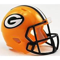 Riddell GREEN BAY PACKERS NFL Speed POCKET PRO MICRO/POCKET-SIZE/MINI Football Helmet