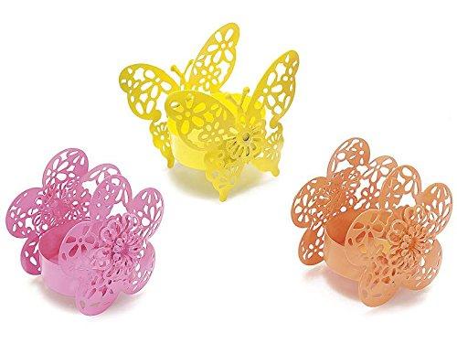 Bomboniere per ospiti–bomboniere: set di 6favore regali di nozze con confetti e bomboniere tag Te