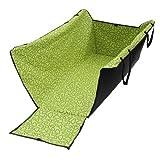 amzdeal Hundedecke Autoschondecke mit Seitenschutz Wasserfestes Hochwertiges Material Grün