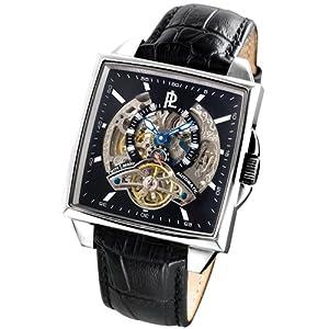 Pierre Lannier 307B133 - Reloj analógico para caballero de cuero negro de Pierre Lannier