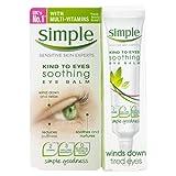 Beruhigende Augencreme gegen Schwellungen ohne Parfüm kaufen