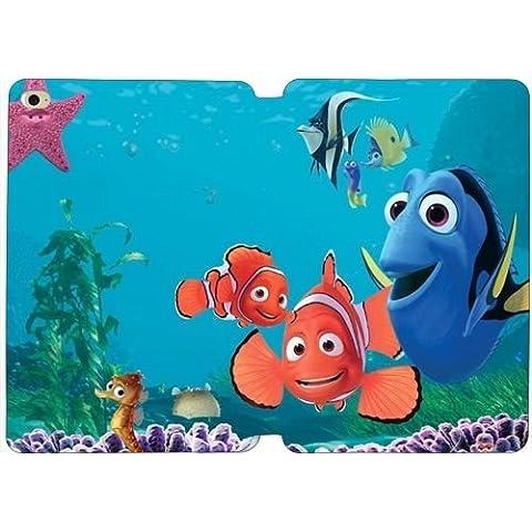 iPad Mini 4caso, Cartoon Buscando a Nemo peces bajo el agua Stand Flip Folio–Funda de piel Para Ipad Mini 4con lápiz capacitivo ti5705326