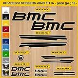 Stickers vélo BMC_ KIT 3 Kit stickers 13 pièces - Choisir immédiatement Colore- Bike Cycle pegatina Cod.0845 (070 NERO)...