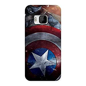 Delighted Rounded Sheild Back Case Cover for HTC One M9