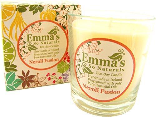 Neroli Soja-kerze (Emma's Eco Sojakerze Im Glas, Duft: Lavendel/Neroli, Fusion)