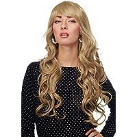 Amazon It Biondo Cenere Vk Event Fashion Parrucche Extension