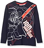 Lego Wear Jungen Langarmshirt Lego Boy Star Wars CM-73148, Blau (Dark Navy 590), 134