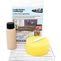 123REPAIR pintura de cuero cuero sintético Beige claro