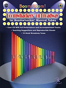Boomwhackers On Broadway. Partitions, CD pour Percussion