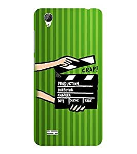 ifasho Designer Phone Back Case Cover Vivo Y31 :: VivoY31L ( Green Pilot Air Hostess Aviator Colorful Pattern Design )