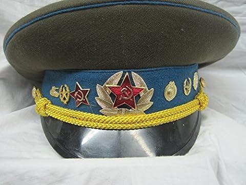 orig. Schirmmütze Russiche Fliegermütze Pilotenmütze gr. 56 Fasching Karneval