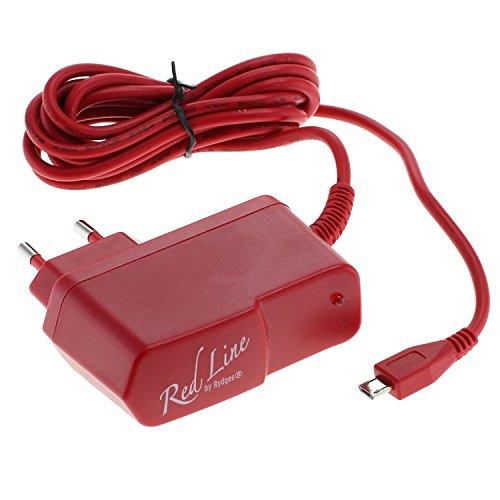 Preisvergleich Produktbild Rydges Nintendo Classic Mini NES EU Netzteil Nintendo Entertainment System - Netzstecker zur Verwendung mit Nintendo Classic Mini - extra langes 2,0 m Kabel (Rot)