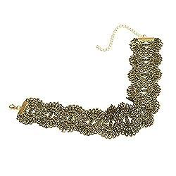 Dawnzen® Choker Necklace Choker Lace Girls Woman Neck Fit for V Neck Dress Top Retro Vintage Style