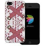 dessana Oktoberfest Transparente Silikon TPU Schutzhülle 0,7mm dünne Handy Tasche Soft Case für Apple iPhone 5/5S/SE Dirndl Bluse Muster
