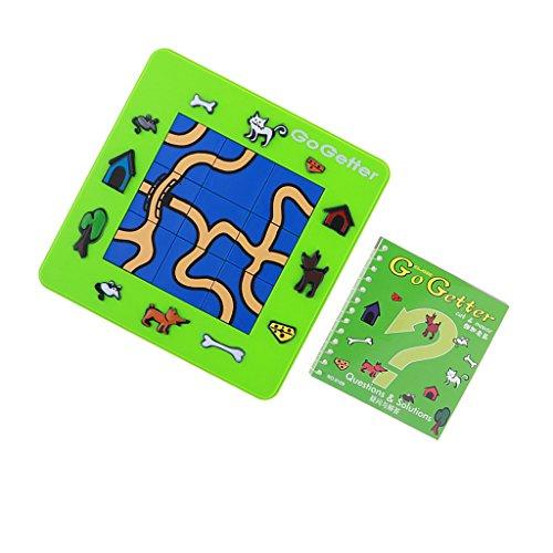 Sharplace Go Getter Gato y Ratón Juegos Placa de Laberinto de Gato y Ratón Juegos de Intaeligencia
