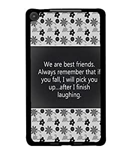 PrintDhaba Quote D-4685 Back Case Cover for ASUS GOOGLE NEXUS 7 2013 (Multi-Coloured)
