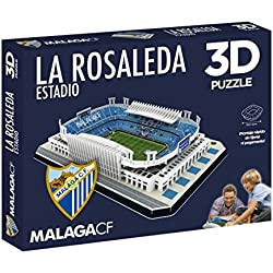 Puzzle 3D Estadio La Rosaleda (Producto Oficial)
